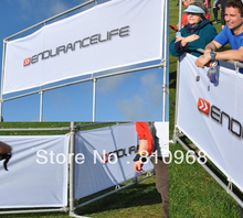 sports mesh fence sign banners