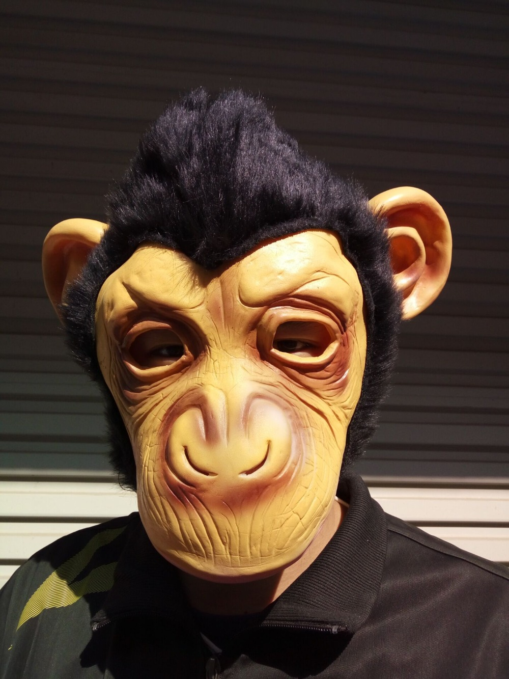 Free Shipping King Kong Gorilla Big Ears Monkey Mask Funny Animal Halloween Masquerade Party Eco Boys Costume Accessories Novelty & Special Use Friendly Latex Full Face Mask Buy One Get One Free