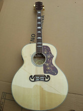 2015 New + Factory + 6 string Chibson J200 acoustic guitar sitka top J200 electric acoustic guitar in stock sight shooting