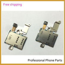 Original For Samsung Galaxy Note N8000 Original SIM Card Slot Tray Holder Reader Flex Cable Repair Part  With Logo