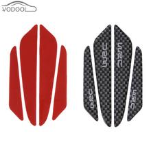 Buy VODOOL 4Pcs Universal Carbon Fiber Car Sticker Protector Atuo Door Side Edge Protection Guards Anti-Scratch Stickers Accessories for $1.38 in AliExpress store