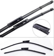"2 pcs=1 pair/ set 24""+16""  Megane 3 car wiper blade soft silicone rubber wiper auto windshield windscreen wiper arm"