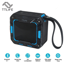 TTLIFE Wireless Bluetooth Speaker waterproof 5w Durable Portable Outdoor Sound Box super Bass Speaker for IPhone Xiaomi Samsung