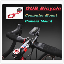 GUB 669 MTB Road bike bicycle computer camera holder 31.8/25.4mm used conversion Handlebar extension for GARMIN CATEYE GoPro