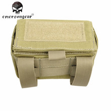 Emerson Tactical Airsoft Molle Shotgun Ammo Box Portable Durable Bullet Bag for Military Outdoor Hunting Sport Cycling Bag $