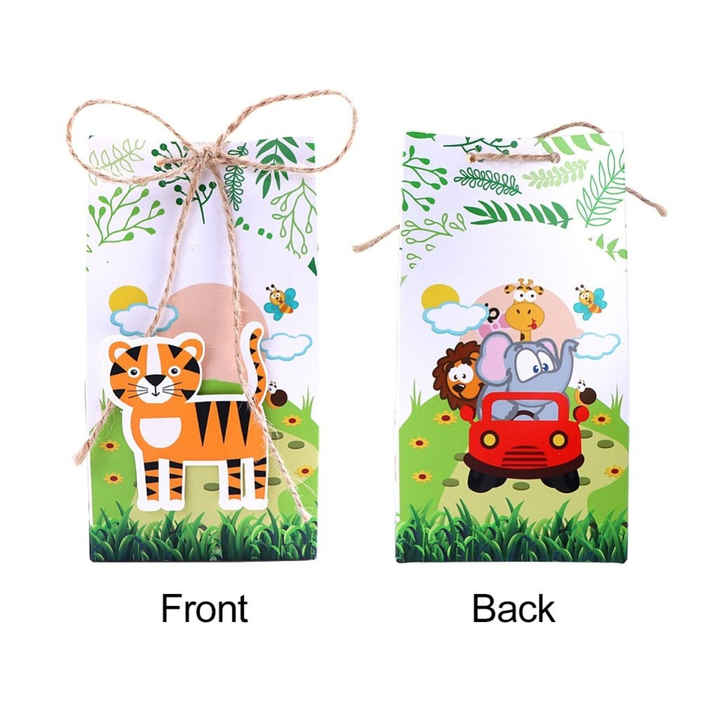 Zoo Animal favor boxes (4)