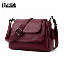 DIZHIGE Brand 2017 Spring Summer Fashion Crossbody Bags Single Shoulder Bags Ladies PU Leather Bags Women Handbags New Sac Femme(China)
