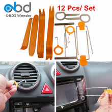 Plastic Car Remover Set Auto 12PCS 4Pcs Car Removal Tool Stereo Installation Kits Universal Car Radio Panel Door Clip Dash Trim