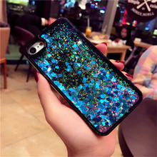 Buy 6/6S Fashion Dynamic Liquid Bling Glitter Quicksand Star Phone Case iphone 7 6 6S Plus Clear Transparent PC Hard Back Cover for $3.49 in AliExpress store