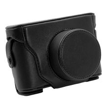 Leather Camera Hard Case Bag Cover For Fujifilm Fuji X10 X20 Finepix(China)