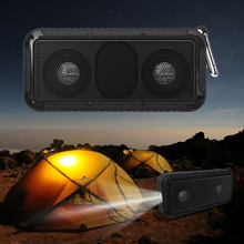 Portable Wireless Bluetooth Speaker Waterproof Speaker with Mic LED Torch 3D stereo Music Loudspeakerfor iPod / for iPhone