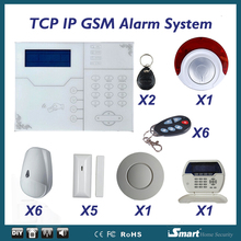 Buy Focus ST-VGT GSM TCP IP Alarme Systems Smoke Detector Wireless Home Security Arm Disarm Alarm System APP Remote Control for $359.58 in AliExpress store