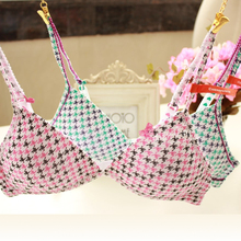 2016 New Lingerie Sexi Intimates Little Teen Fashion Bra Brand Brassier Small Underwear 30A 32A/ 65A 70A
