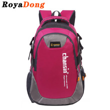 RoyaDong Big Size Backpack Nylon Letters Printing School Bag For Teenage Girls Boys Kids Schoolbags 2017 Hot(China)