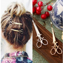 1 개 Korean version 의 the simple hair 장식품 personalized hair clips 장식품 retro word 폴더 장식의 머리핀(China)