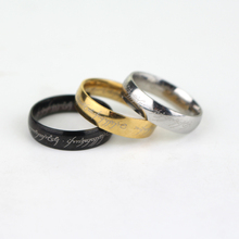 4 Style New Sale Flash Batman Superhero Superman and LOTR Stainless Steel Ring Size 7-11(China)