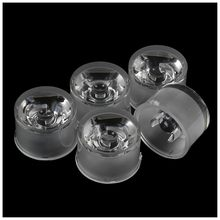 5Pcs Waterproof 8 Degree High Power 1W 3W LED Optical Lens 22 x 14mm(China)
