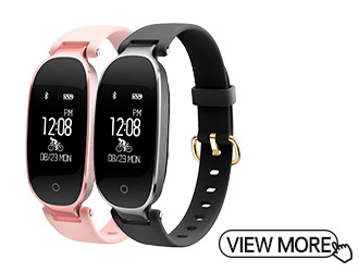 Waterproof Smart Bracelet With Pulse Monitor