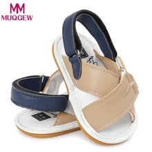 Baby Boys Sandals Casual Shoes Sneaker Anti-slip Soft Sole Toddler sandalias baby boy Shoes(China)