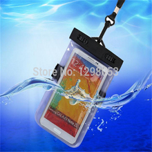 Waterproof Durable Water proof Bag Underwater Back Cover Case For Iphone 4S 5S 5C 6 Samsung S2/S3 EC520(China)