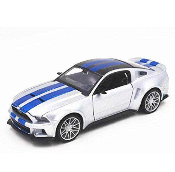 Maisto 1:24 Need For Speed 2014 Ford Mustang Diecast Model Car Toy New In Box Free Shipping(China (Mainland))