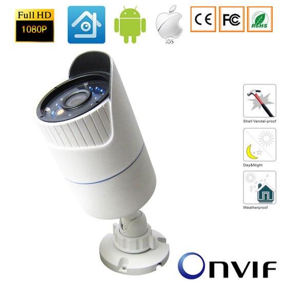 1080P IP Camera Network P2P Onvif Outdoor/Indoor Security Waterproof  2.0MP IP Camera Night Vision-xmeye<br>