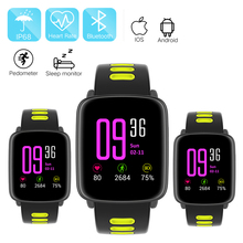GV68 Heart Rate Monitor Smart Watch IP68 Waterproof sport Smartwatch relogio IOS Android Phone pk kw88 k88h wearable devices - Usmart Store store