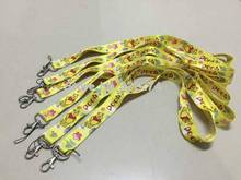 Lots 10 pcs x  New  Popular Fashion Yellow Bear the Pooh  Phone lanyard Key chain Strap Charm Gift  Free shipping