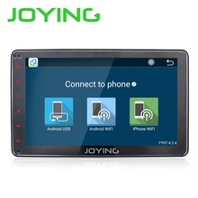 "Joying new Android 6.0 Universal Single 1 DIN 8"" Car Radio Stereo Quad Core Head Unit Support Dual Zone Steering Wheel Camera"