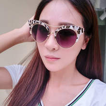 Maskros Mirror Cat Eye Sunglasses for Women Feminine Flower Frame Cateye Sun Glasses Ladies New Fashion Protection Goggles UV400