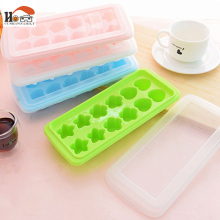 Fashion Creative 12 Cell 4 model Frozen Ice Cream Pop Mold Plastic Popsicle Maker Lolly Mould Tray Pan Kitchen DIY Free shipping(China)