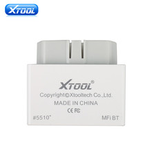 XTOOL iOBD2 Bluetooth OBD2 EOBD Auto Scanner for iPhone/Android by Bluetooth iOBD2 Scan Tool(Hong Kong)