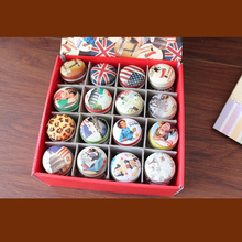 Mini Vintage Round Tin Box Cookies Tea Food Candy Storage Kitchen Accessories Mac Makeup Jewelry Boxes Gift for Christmas 015-3