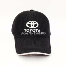 new arrived 6 colours white toyota Souvenir Caps toyota baseball cap mesh style race hat
