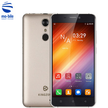 Original KINGZONE S3 Smartphone 5.0'' Shockproof Android 6.0 MTK6580 Quad Core 1GB RAM 16GB ROM Fingerprint ID Mobile Cellphone