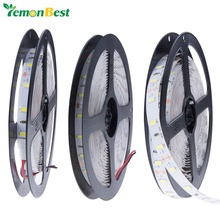 5M RGB LED Strip Light 12V 3528 5050 5630 Warm Cool White RGB 300led SMD Ribbon For Ceiling Counter Cabinet Light Non-waterproof(China)