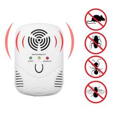 40-70HZ Electronic Ultrasonic Mouse Bug Repellent Killer Mouse Cockroach Trap Mosquito Repeller Insect Rats Spiders Control(China)