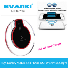 [Bvanki Wireless]1000Pcs/lot China Mobile Accessories Qi Wireless Charger Pad for Samsung Galaxy S7 Mobile Phone Charger Adapter