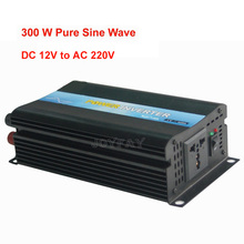 300W Pure Sine Wave DC 12V  to AC 220V Power Inverter