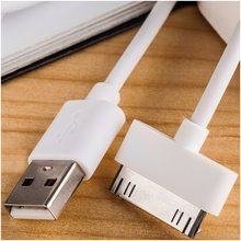AT-J  30-Pin USB Cable For iPhone 4s Original Quality 1m Data Sync Charger Cabo For iPhone 4 iphone4 3G 3GS iPad 1M 2M 3M