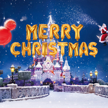 Merry Christmas Letters Foil Balloon Set Party Festival Decoration Helium Ballon Inflatable Christmas Party Celebration Air Ball(China)