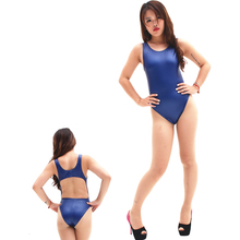 Buy Sexy Women Hollow Faux Leather Matte High Cut Bodysuit Thong Backless Erotic Leotard Costumes Latex Bodysuit Erotic Lingerie 62