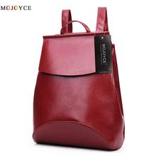 Korean Style Summer Leather Backpack Female Bagpacks for Teenage Girls Backpacks Bookbags for School bolso mochilas mujer 2017