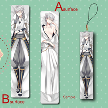 Hot Online Game Touken Ranbu Tsurumaru Kuninaga Cool Anime Mini Dakimakura Keychain Pillow Hanging Ornament Phone Strap Gift