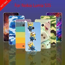 Case For Nokia Lumia 535 Leopard Whale Skull Cat Lotus Flower Rainbow King Hard Cell Phone Case