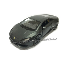 Matte Black 1:36 Scale Diecast Alloy Metal Luxury Collection Super Sports Car Model For TheLam borghini Huracan LP610-4 Toys Car(China)