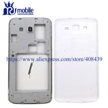Original G7106 Full Housing For Samsung Galaxy Grand 2 II Duos G7102 G7106 Middle Frame Battery Back Cover