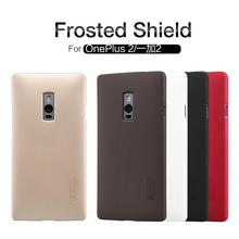 For oneplus 2 oneplus two case NILLKIN Super Frosted Shield Case for one plus two cell phone cases with Screen Protector(China)