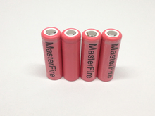 MasterFire 10pcs/lot New Genuine Sanyo 14430 UR14430P 660mAh 3.7v Li-ion Battery Rechargeable Batteries Cell Free Shipping(China)