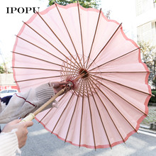Party DIY Decoration Art Supply Painting Shelterwood Handmade Material Craft Umbrella New Year natal Gift for Kids 1 PC 5 Colors(China)